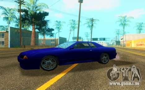 Elegy WorldDrift v1 pour GTA San Andreas sur la vue arrière gauche