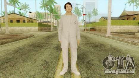 Takedown Redsabre NPC Scientist für GTA San Andreas