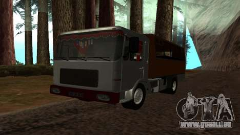 Roman Bus Edition für GTA San Andreas