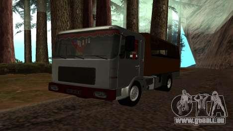 Roman Bus Edition für GTA San Andreas