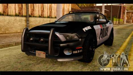 NFS Rivals Ford Shelby GT500 Police für GTA San Andreas