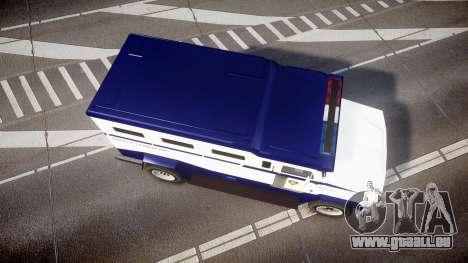 GTA V Brute Police Riot [ELS] skin 3 für GTA 4 rechte Ansicht