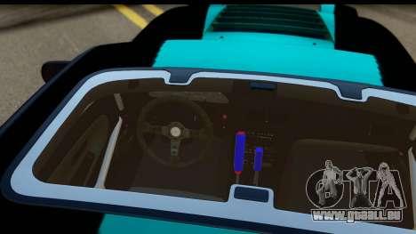 Nissan 200SX S13 Skin pour GTA San Andreas vue intérieure