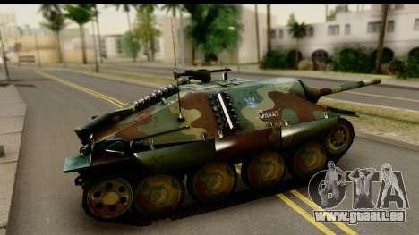 Jagdpanzer 38(t) Hetzer Chwat für GTA San Andreas linke Ansicht