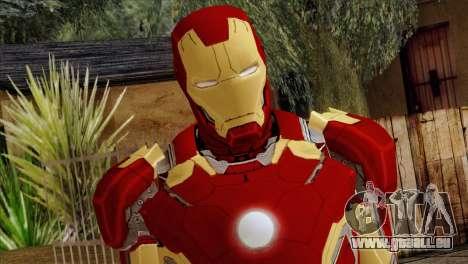 Iron Man Mark 43 Svengers 2 pour GTA San Andreas troisième écran