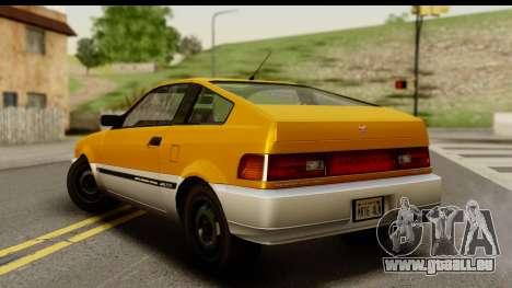 GTA 4 Blista Compact für GTA San Andreas linke Ansicht