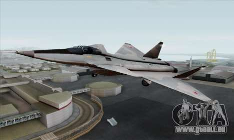 MIG 1.44 Flatpack Russian Air Force pour GTA San Andreas