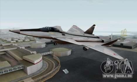 MIG 1.44 Flatpack Russian Air Force für GTA San Andreas