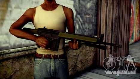 HK G3 Flashlight pour GTA San Andreas troisième écran
