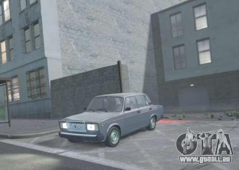 VAZ 2107 de Vidange pour GTA 4