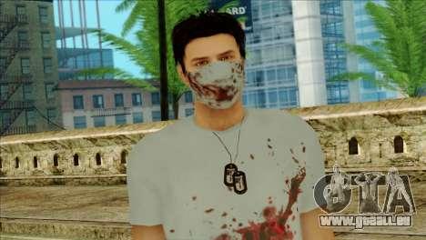 ER Alex Shepherd Skin without Flashlight für GTA San Andreas dritten Screenshot