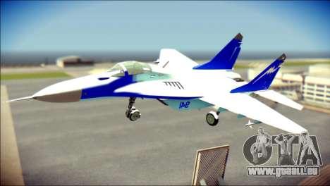 Mikoyan-Gurevich MIG-29K für GTA San Andreas