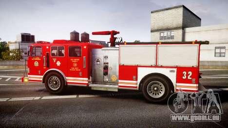GTA V MTL Firetruck für GTA 4 linke Ansicht