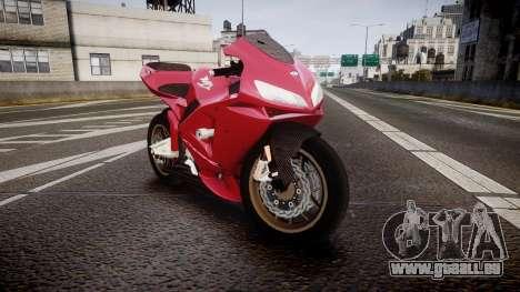Honda CBR600RR pour GTA 4