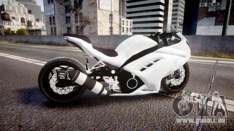Kawasaki Ninja 250R Tuning für GTA 4 linke Ansicht