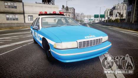 Chevrolet Caprice 1993 LCPD Without Hubcabs ELS pour GTA 4