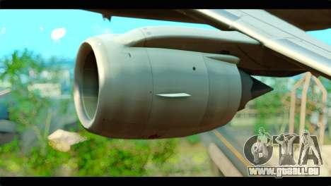Embraer 190 Lion Air pour GTA San Andreas vue de droite