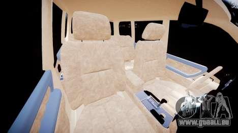 Toyota Land Cruiser 100 UEP [ELS] für GTA 4 Innenansicht
