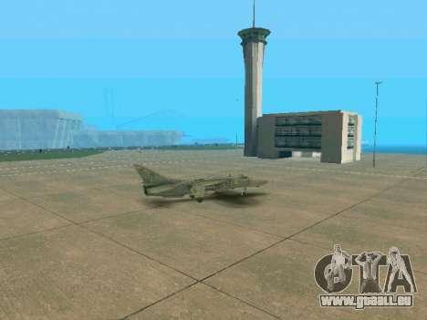 SU-24MR für GTA San Andreas Unteransicht