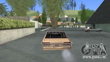 Bloodring Premier pour GTA San Andreas sur la vue arrière gauche