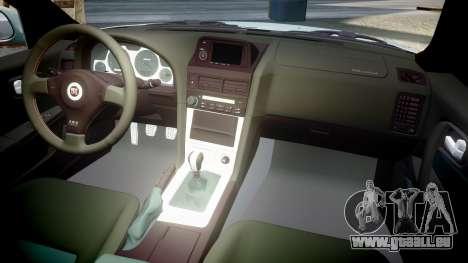 Nissan Skyline R34 GT-R M-Spec Nur pour GTA 4 est un côté