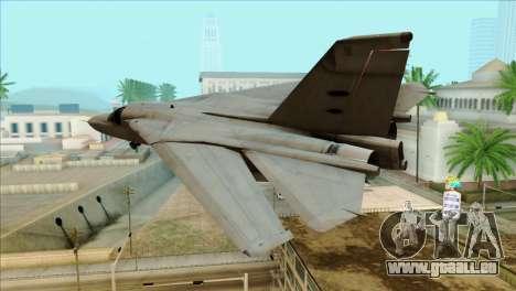 SU-27SK Indonesian Air Force pour GTA San Andreas laissé vue