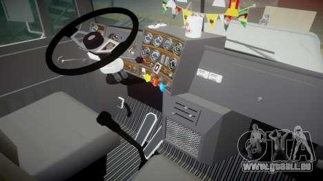 Mack R700 pour GTA 4 Vue arrière