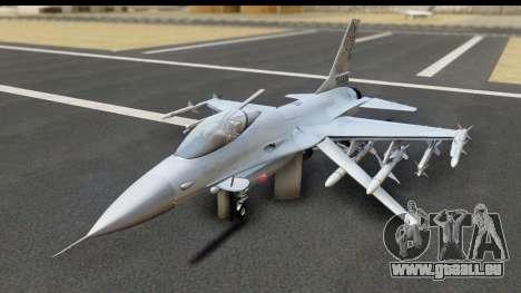 F-16C Polish Air Force Tigers pour GTA San Andreas