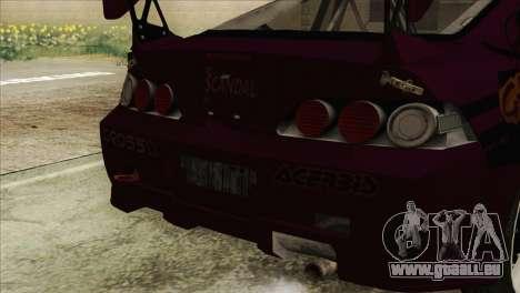 Acura RSX Hinata Itasha pour GTA San Andreas vue de droite