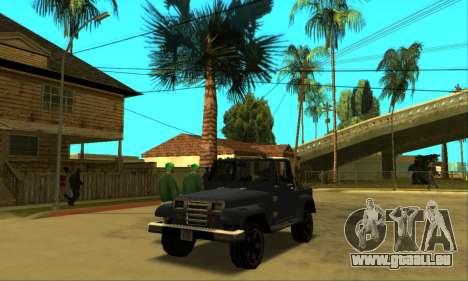 Mesa Final pour GTA San Andreas vue intérieure