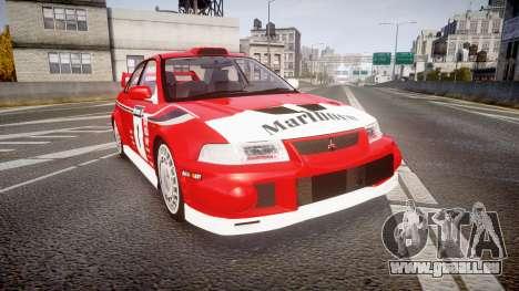 Mitsubishi Lancer Evolution VI 2000 Rally pour GTA 4