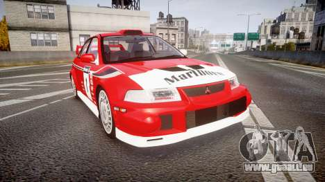 Mitsubishi Lancer Evolution VI 2000 Rally für GTA 4