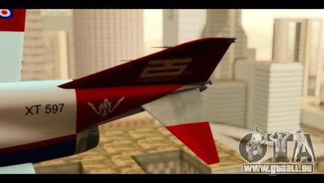 McDonnell Douglas F-4E Phantom II für GTA San Andreas zurück linke Ansicht