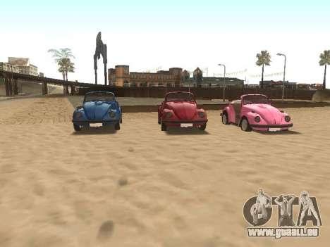 Volkswagen Beetle 1984 pour GTA San Andreas roue