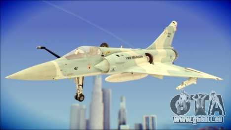 Dassault Mirage 2000-C FAB pour GTA San Andreas