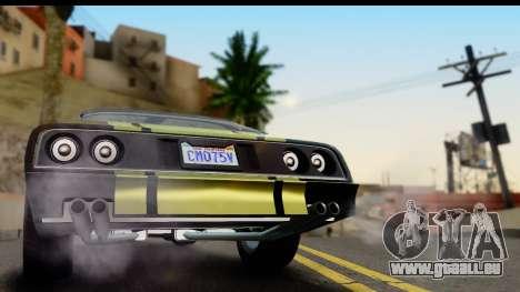 GTA 5 Imponte Phoenix IVF pour GTA San Andreas vue de droite