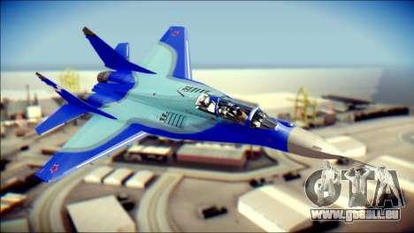 Mikoyan-Gurevich MIG-29K UB 341 Blue pour GTA San Andreas