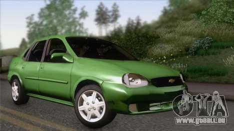 Chevrolet Corsa Classic 2009 für GTA San Andreas