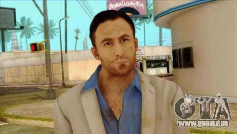 Nick from Left 4 Dead 2 pour GTA San Andreas troisième écran