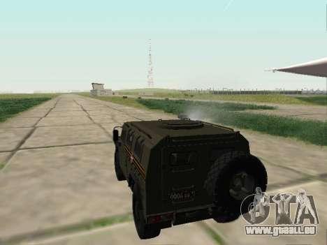 GAZ-2330 Vor für GTA San Andreas Innenansicht