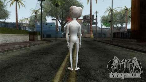 Zeta Reticoli Alien Skin from Area 51 Game pour GTA San Andreas deuxième écran
