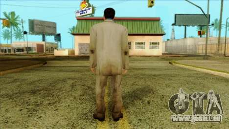 Nick from Left 4 Dead 2 für GTA San Andreas zweiten Screenshot