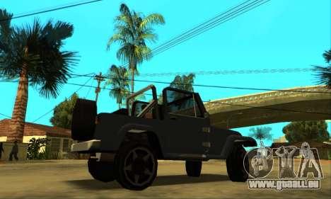 Mesa Final pour GTA San Andreas vue de côté