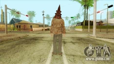 Bogeyman Alex Shepherd Skin without Flashlight für GTA San Andreas zweiten Screenshot