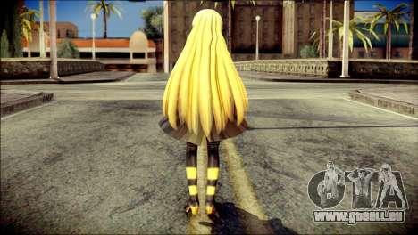 Lilly from Vocaloid für GTA San Andreas zweiten Screenshot