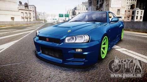 Nissan Skyline BNR34 GT-R V-SPECII 2002 für GTA 4