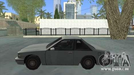 Premier Coupe für GTA San Andreas linke Ansicht