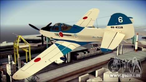 P-39N Airacobra JASDF Blue Impulse für GTA San Andreas linke Ansicht