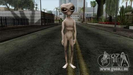 Zeta Reticoli Alien Skin from Area 51 Game für GTA San Andreas