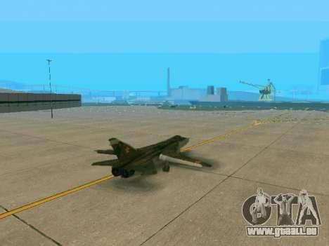 SU-24MR für GTA San Andreas Rückansicht